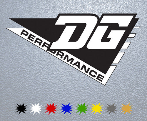 DG Performance Logo Sticker
