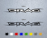 DRAG Logo Sticker