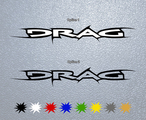 DRAG Sticker (x1)