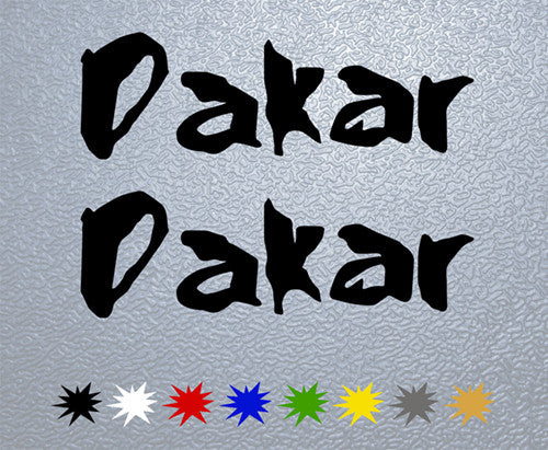 Dakar Logo Sticker