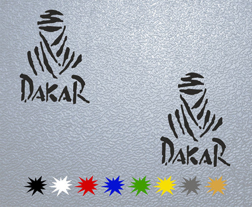 Dakar Logo #1 Sticker