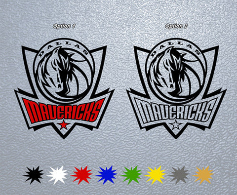 Dallas Mavericks Sticker (x1)