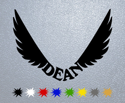 Dean Guitars Logo Sticker (x1)