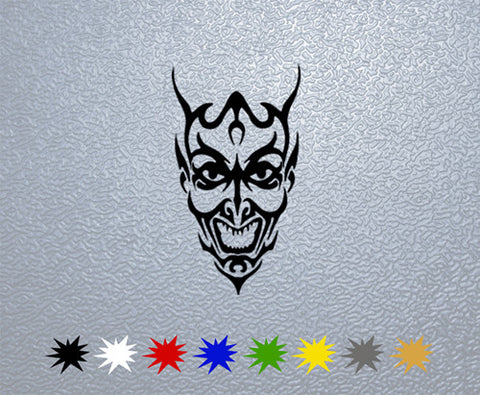 Tribal Demon Sticker (x1)