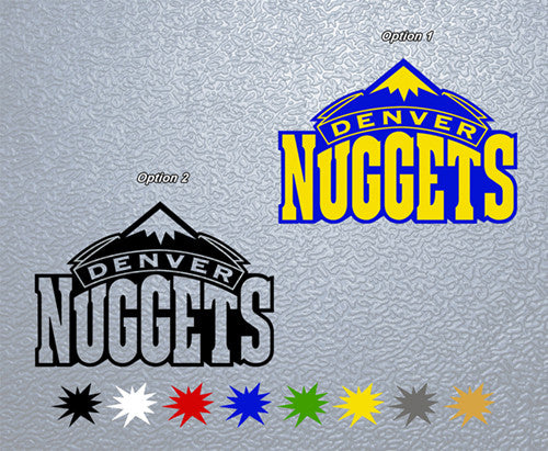 Denver Nuggets Sticker