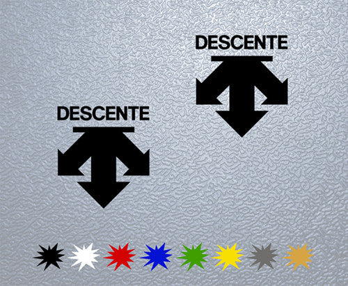 Descente Logo Sticker