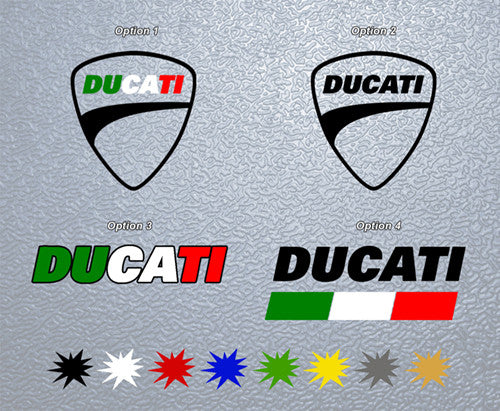 Ducati Logo Sticker