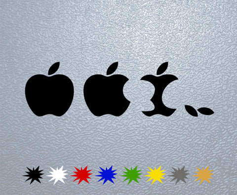 Eaten Apple Sticker (x1)