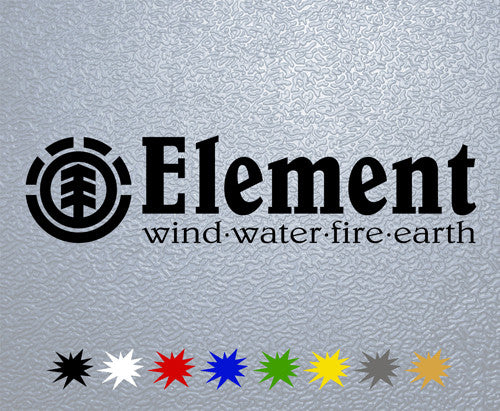 Element Skateboards Logo Sticker