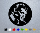 Potrait Elvis Presley Sticker