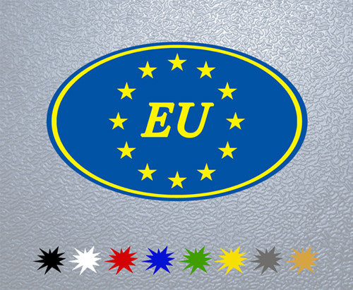 European Union Flag Sticker