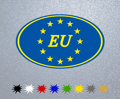 European Union Flag Sticker (x1)