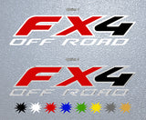 Ford FX4 Off Road Logo Sticker