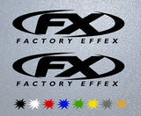 FX Factory Effex Logo Sticker