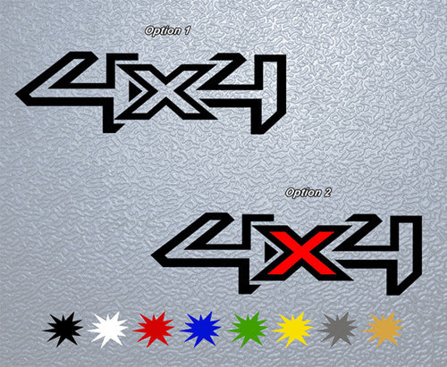 Ford 4x4 Logo Sticker