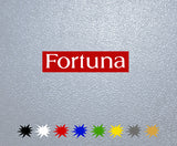 Fortuna Logo Sticker