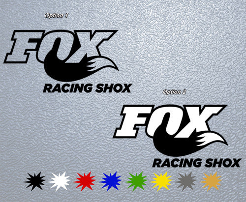 Fox Racing Shox #1 Logo Sticker