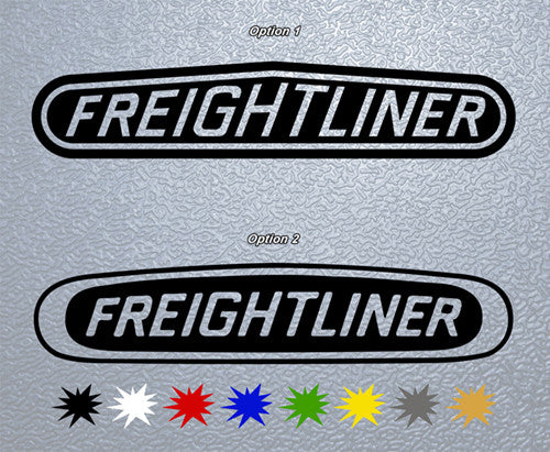 Freightliner Trucks Logo Sticker