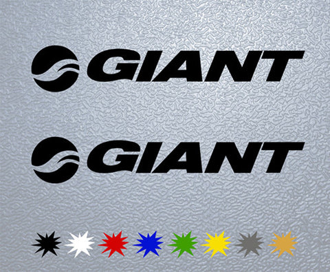 Giant Bicycles Sticker (x2)