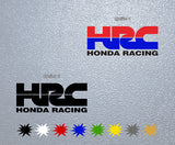 HRC Honda Racing Logo Sticker