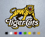 Hamilton Tiger Cats Logo Sticker