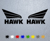 Hawk Logo Sticker