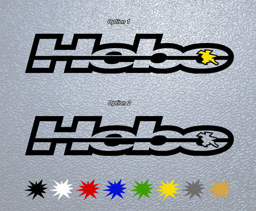 HEBO Racing Logo  Sticker