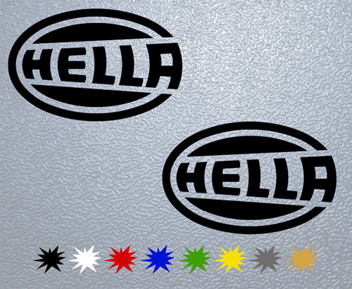 Hella Logo Sticker