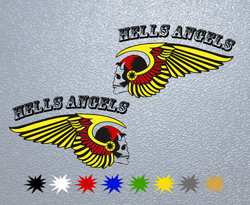 Hells Angels Logo Sticker