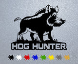 Hog Hunting Sticker