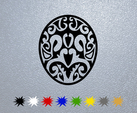 Egg Tribal Sticker (x1)