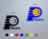 Indiana Pacers Logo Sticker
