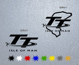 Isle of Man Tourist Throfi Circuit Sticker