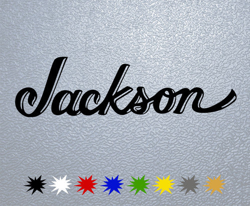Jackson Guitars Logo Sticker