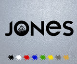 Jones Snowboard Logo Sticker