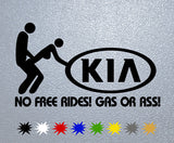 KIA Gas Or Ass Sticker