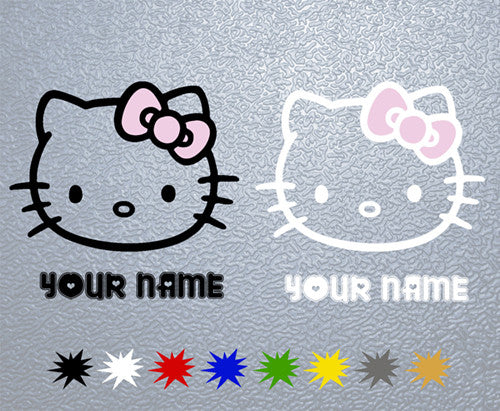 Hello Kitty Personalized Sticker