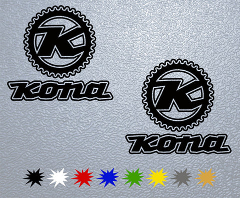 Kona #1 Sticker (x2)