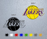 Los Angeles Lakers Logo Sticker