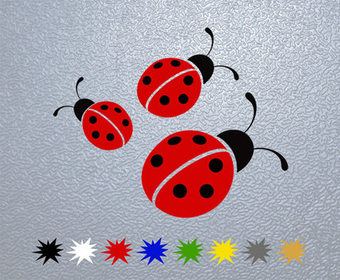 Ladybugs Sticker (x1)