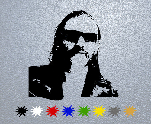 Lemmy Kilmister Portrait Sticker