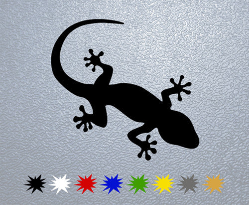 Lizard Logo Sticker