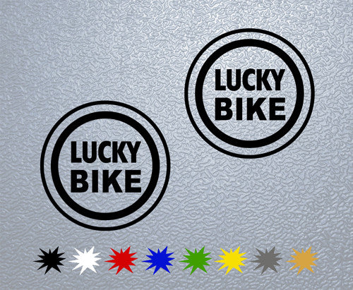 Lucky Bike Sticker