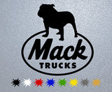 Mack Trucks Logo Sticker