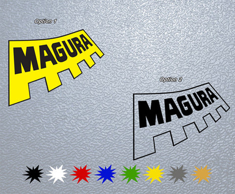 Magura Sticker (x2)