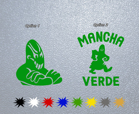 Mancha Verde Sticker (x1)