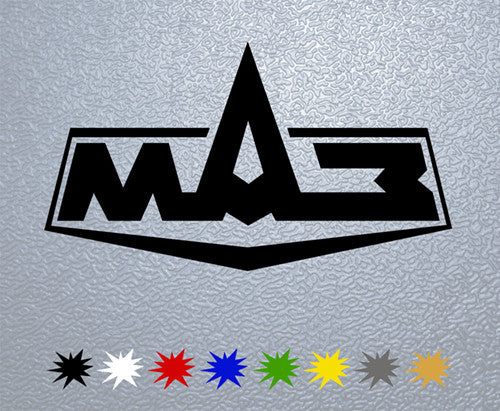 Maz Logo Sticker