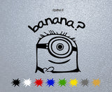 Minion Banana Sticker