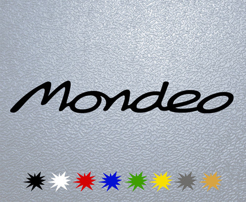 Ford Mondeo Logo Sticker