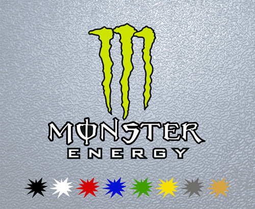 Monster Energy Logo Sticker